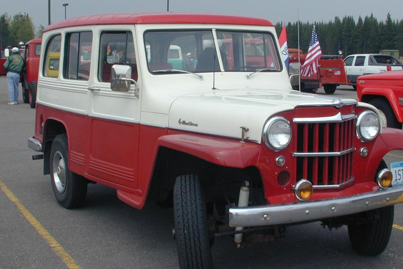 Willys Wagon 1960 #9