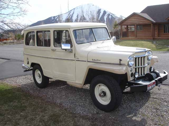 Willys Wagon 1960 #10