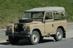 1970 Land Rover Series II