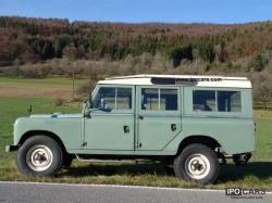 1971 Land Rover Series II