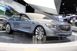 A Buick 2015 Avenir sedan concept demonstrating a new face of the old brand #10
