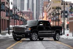 a pickup truck GMC 2014 Sierra model beats the innovations
