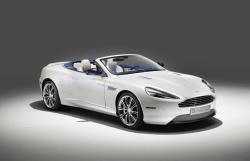 Aston Martin 2014 DB9 Volante painted in Morning Frost #6