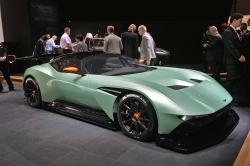 Aston Martin has officially presented a track Aston Martin 2015 Vulcan supercar #9