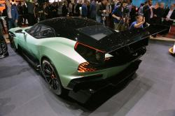 Aston Martin has officially presented a track Aston Martin 2015 Vulcan supercar #10