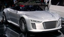 Audi 2010 works on the new level with the E-tron model #10