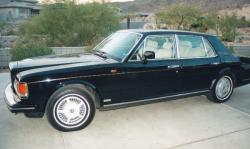 Bentley Mulsanne Turbo 1984 #6