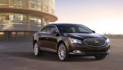 The world premiere of Buick 2014 LaCrosse sedan in New York