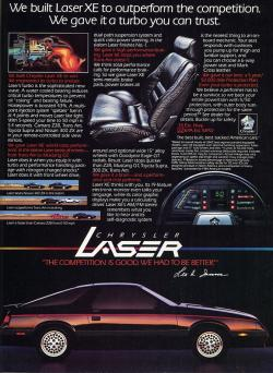 Chrysler Laser 1986 #9