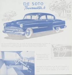Desoto Powermaster Six 1954 #8