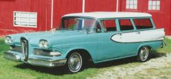 Edsel Villager 1958 #9