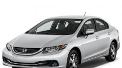 Honda Civic Hybrid w/Leather and Navigation #22