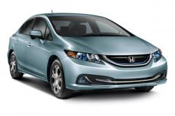 Honda Civic Natural Gas w/Leather and Navigation #41