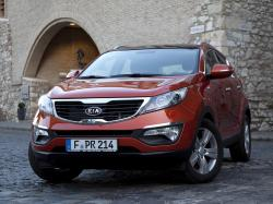 kia 2010 sportage demonstrating impressive fuel economy #8