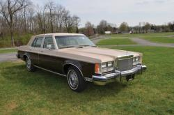 Lincoln Versailles 1978 #8