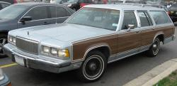 Mercury Grand Marquis Colony Park GS #12