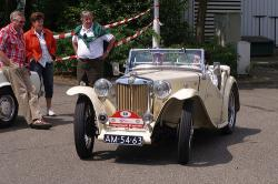 MG TC Roadster 1947 #8