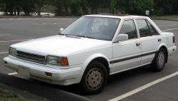 Nissan Stanza GXE #6