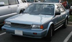 Nissan Stanza GXE #8