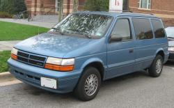 Plymouth Grand Voyager 1995 #10