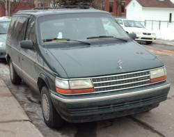 Plymouth Voyager 1992 #7