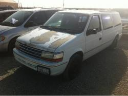 Plymouth Voyager 1992 #9