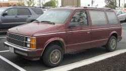 Plymouth Voyager 1992 #11