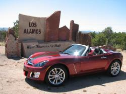 Saturn Sky Ruby Red SE #7