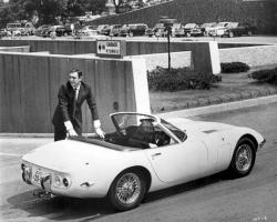 The first Japanese supercar, Toyota 2000 GT