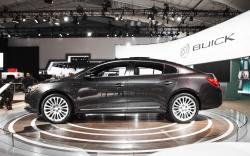 The world premiere of Buick 2014 LaCrosse sedan in New York #10