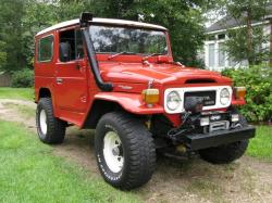 Toyota Land Cruiser 1983 #6