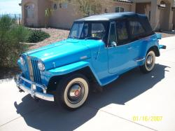 Willys Jeepster #12