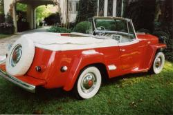 Willys Jeepster 1949 #6