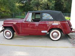 Willys Jeepster 1949 #11