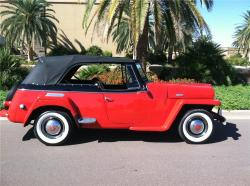 Willys Jeepster 1950 #11