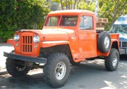 Willys Pickup 1958 #7
