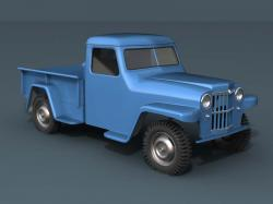 Willys Pickup 1959 #6