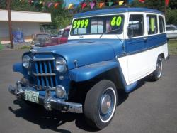 Willys Wagon 1960 #8