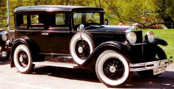 1929 Hupmobile Series M