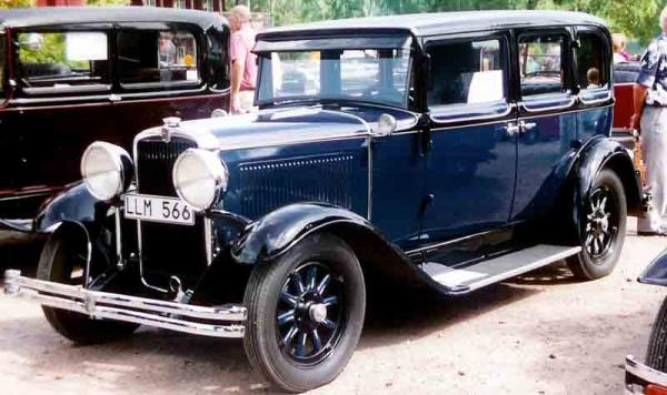 1930 Nash Single Six