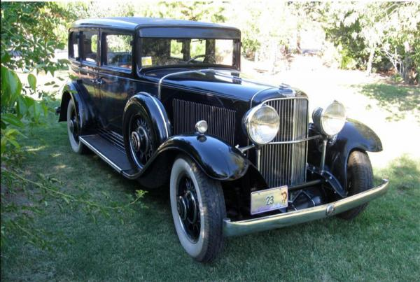 1931 Nash Twin Ignition