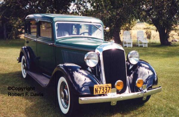 1933 Plymouth Model PC