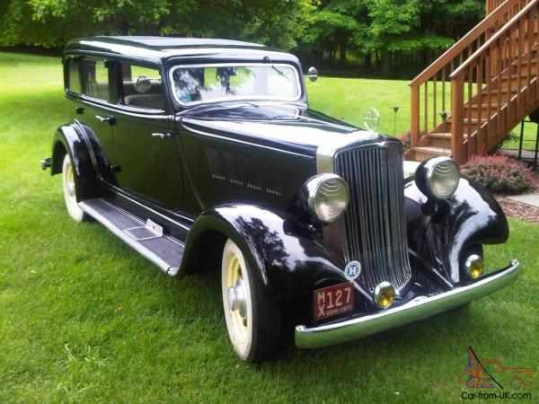 1933 Hupmobile Series KK-321A