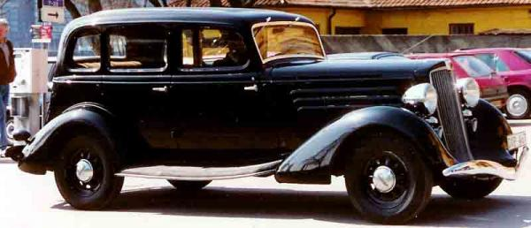 1934 Hupmobile Series 417-W