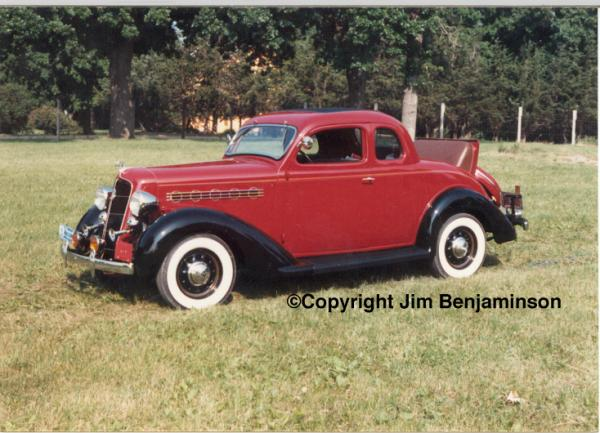 1935 Plymouth Business PJ