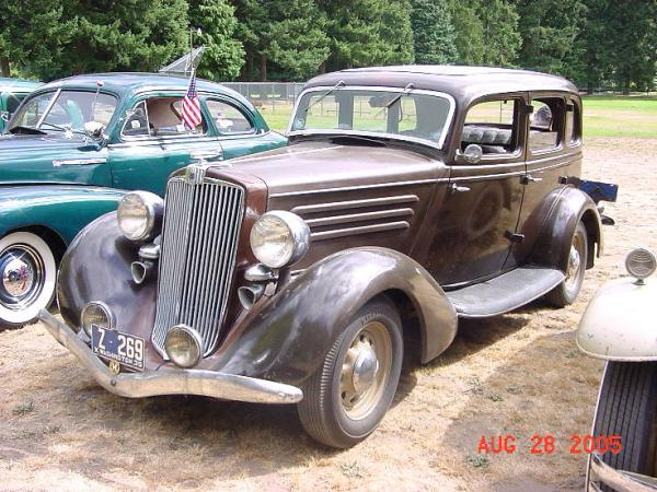 1935 Hupmobile Series 517-W