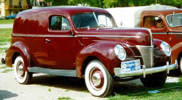 1940 Plymouth Panel Delivery