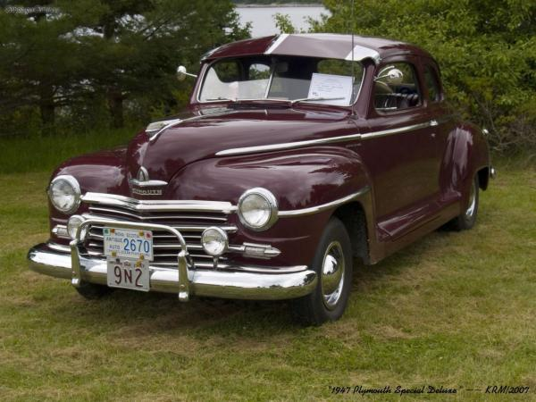1947 Plymouth Special DeLuxe