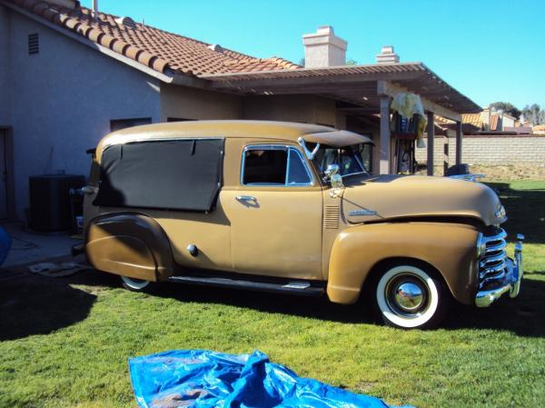 1952 Chevrolet Canopy Express