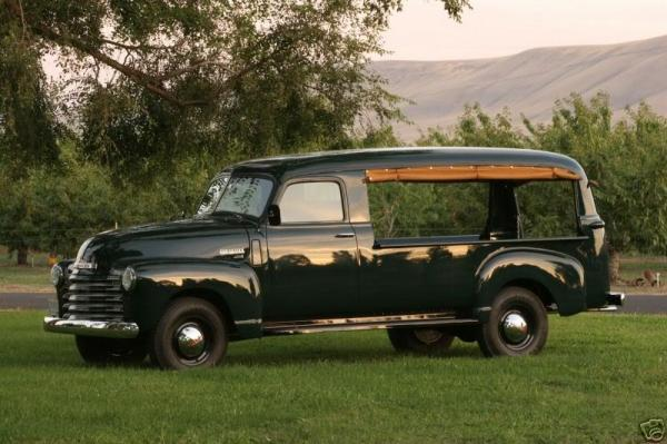 1955 Chevrolet Canopy Express